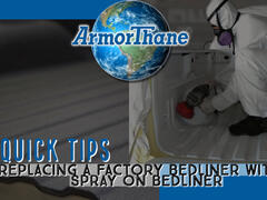 Can You Replace A Factory Bedliner With A Spray On Bedliner?