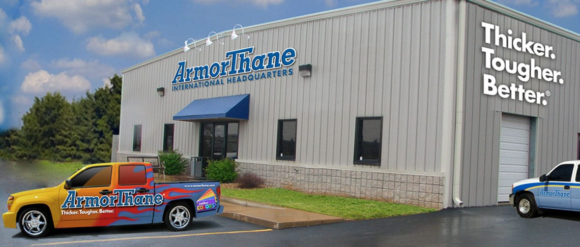A picture of the ArmorThane headquarters