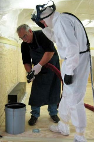 Get info about starting a polyurea or spray foam business