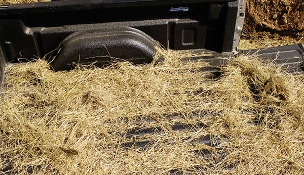 Truck Bed liners for Hauling Hay and Dirt without Scratching or Denting