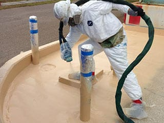 Secondary Spill Containment Sprayed On Coatings | ArmorThane