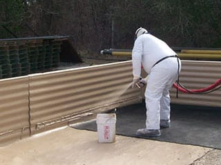 Coatings For Oil Gas Industry Containment Berms Armorthane