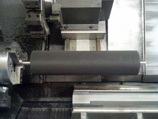 OEM - conveyor roller lagging with protective coating