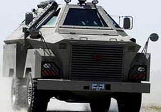 Blast Mitigation Coatings on Armored Personnel Carriers