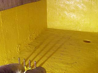 Concrete Coatings waterproof containment
