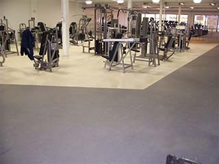 Slip / Skid Resistance Gym floor