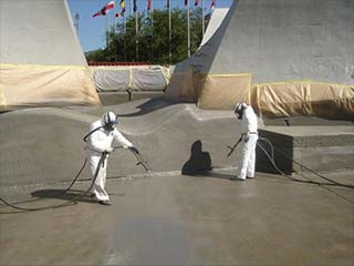 Protective Outdoor Coatings park concrete coating