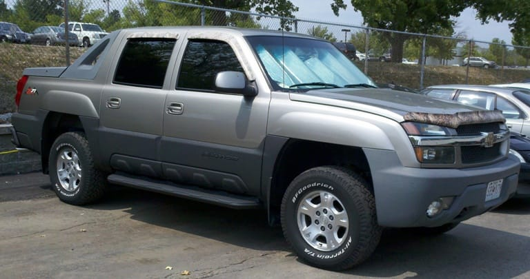 Chevy Avalanche Body Cladding Paint