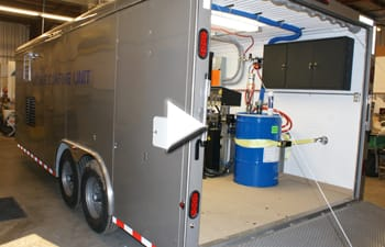 Video tour of mobile coatings trailer