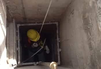 Inspection of refuse chutes