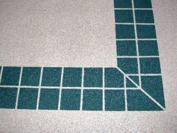 ArmorShield permanent faux tile
