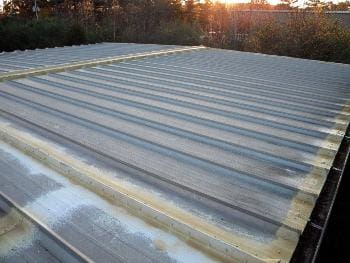 Sealing metal roof angles and valleys