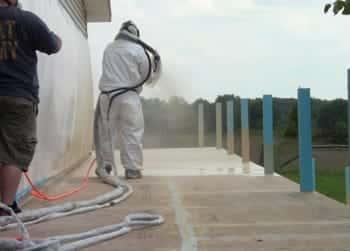 ArmorThane deck coating
