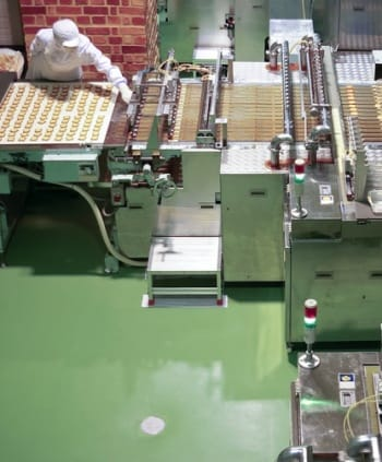 Coatings Safe for Food Processing