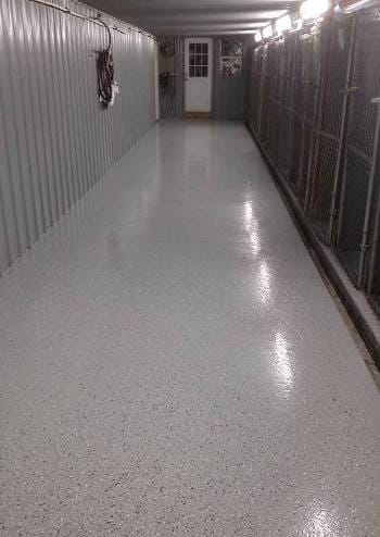 Kennel Floor with Easy-Clean ArmorThane