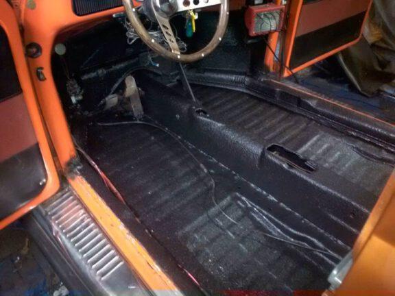 66VWbeetle floorboards after