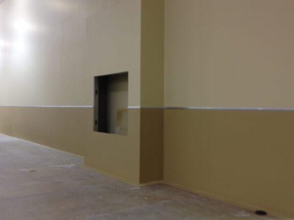 ArmorThane Coated Walls