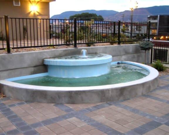 ArmorThane Fountain coating