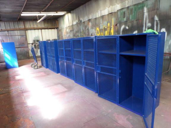 ArmorThane coated lockers