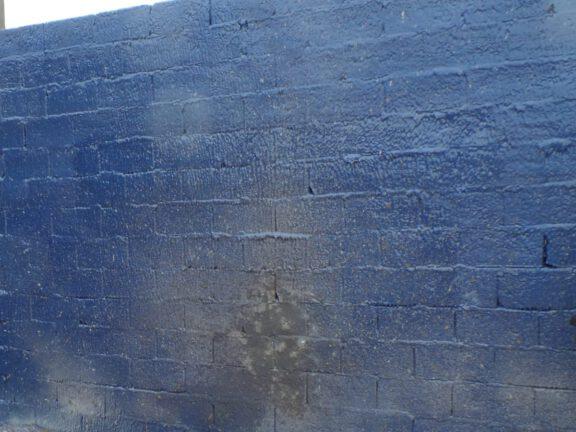 ArmorThane wall after blast