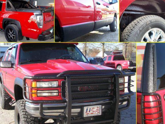 Car Truck accessory spraying
