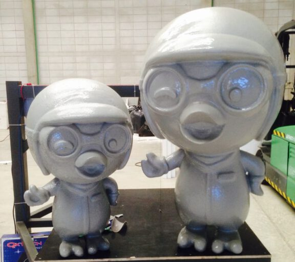 Character molds