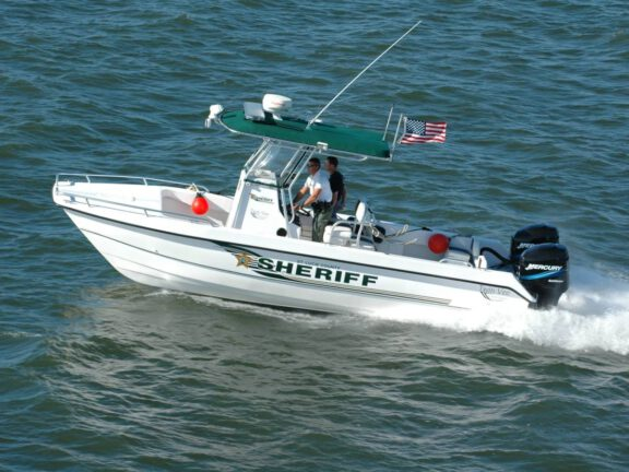 Coating of Police and Military Water Patrol Boats