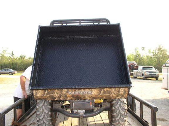 Farm trailer with ArmorThane liner