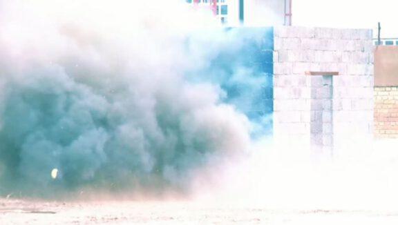 Iraq blast test