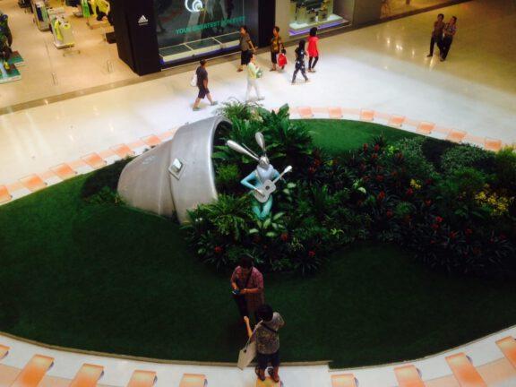 Mall character display