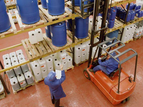 Manufacturing Warehouse Floor