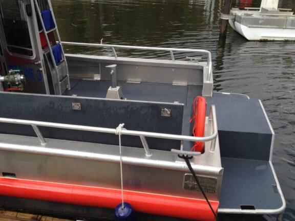 Non skid Boat deck