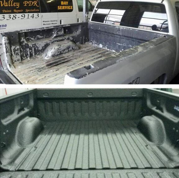 OH Valley PDR truck before after