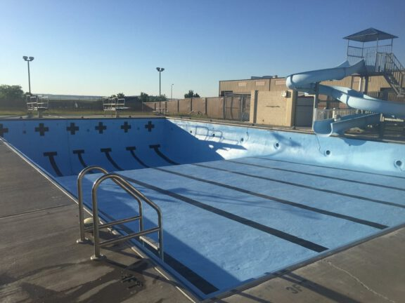 Pool after ArmorThane Coating