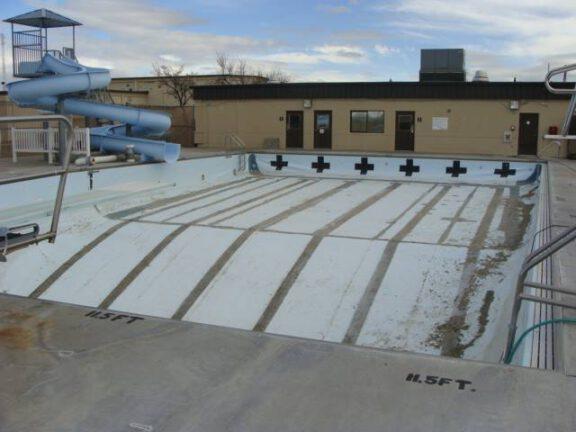 Pool before ArmorThane