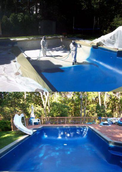 Pool coatings