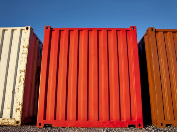 Sea container coating