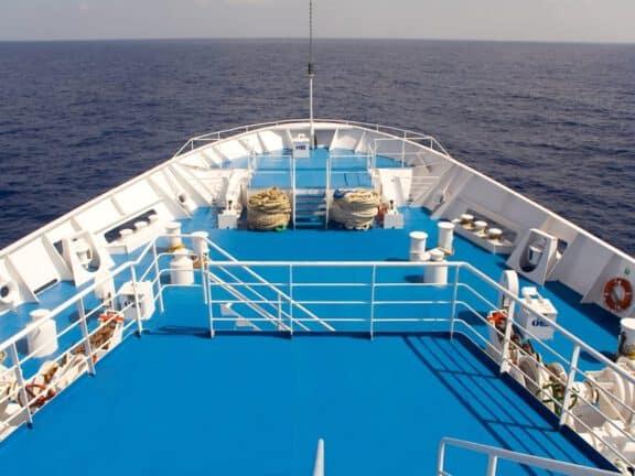 Ship deck coating