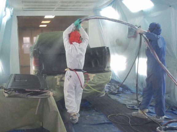westgate3 truck bed spraying