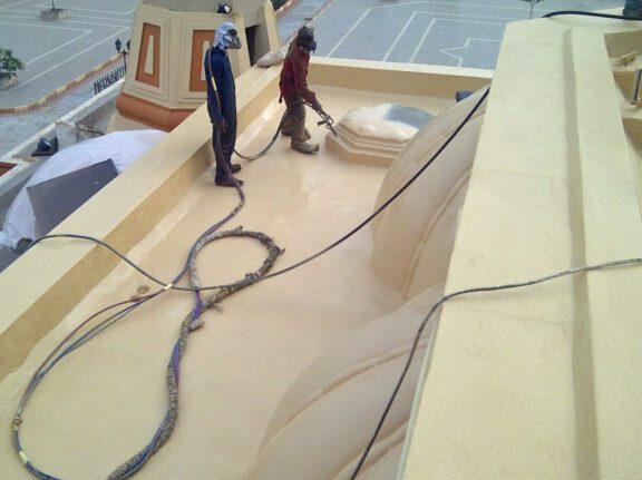 ArmorThane roof coating