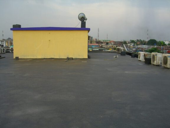 Coated Roof Slab