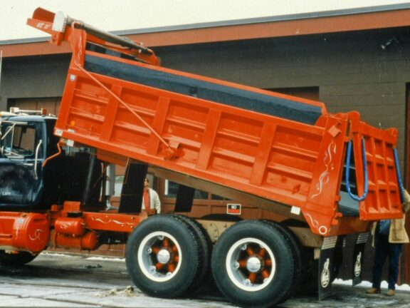 Dump truck coatings