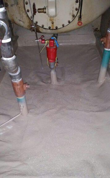 Flexible coating for penetrations