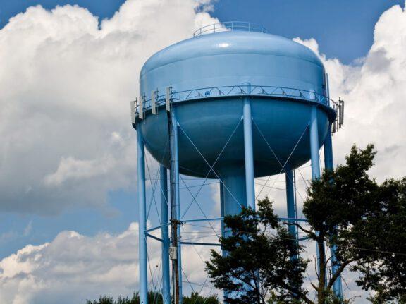 Internal and external water tank coatings