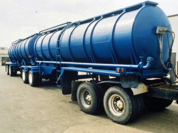 Tanker truck coatings