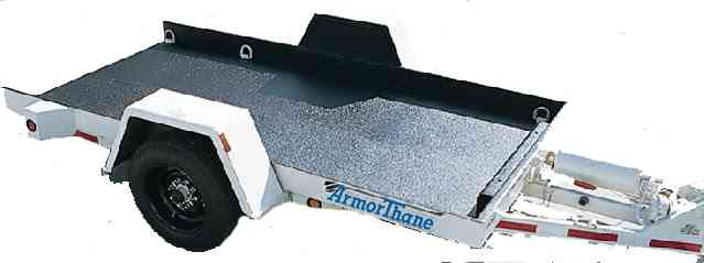 ArmorThane Sprayed Trailer with ArmorLiner