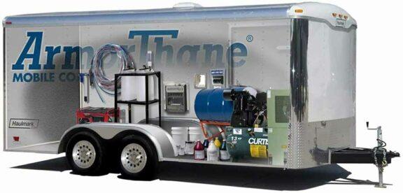 ArmorThane Mobile Spray Rig