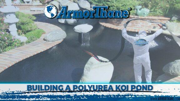 ArmorThane Koi Pond Polyurea