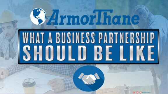 Business Partnership ArmrThane