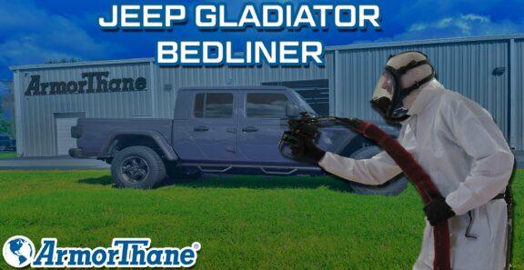 Jeep Gladiator ArmorThane Bedliner